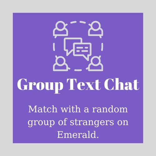 Group Text Chat on Emerald Chat