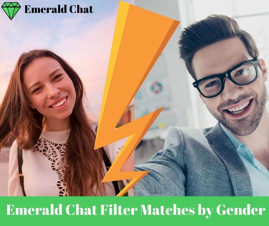 Emerald Chat Filter Matches by Gender